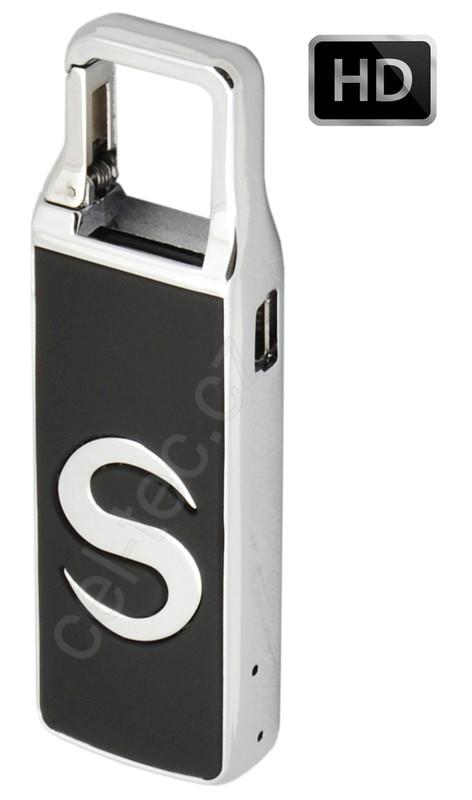 CEL-TEC - Skrytá kamera HD ve flash disku Metal S