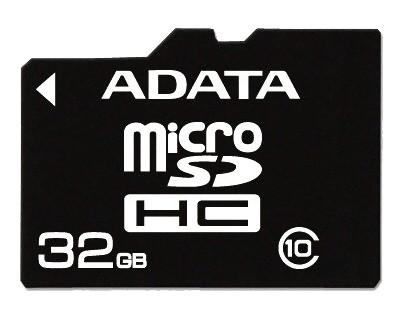 Paměťová karta A-DATA 32GB MicroSDHC karta Class 10 UHS-I