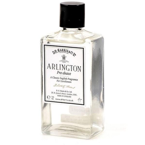 D.R. Harris Arlington, voda před holením