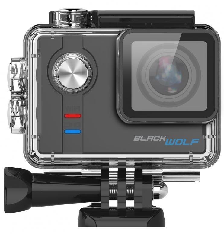 Sportovní kamera Cel-Tec BlackWolf + 1 baterie ZDARMA!