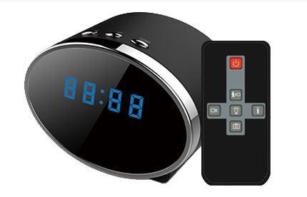 CEL-TEC Kamera ve stolních hodinách FHD 30 night
