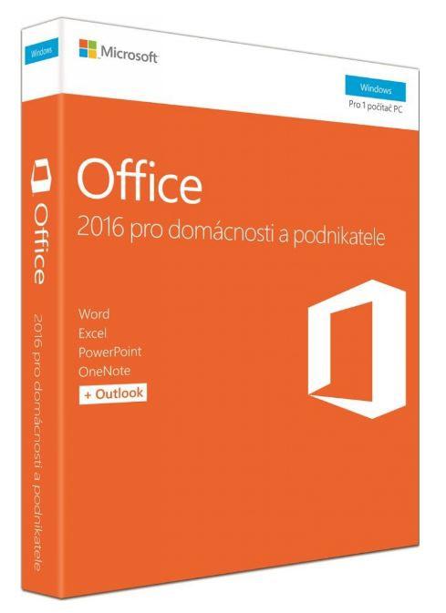 Microsoft Office 2016 pro podnikatele CZ T5D-02421