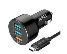 USB adaptér do auta 3 porty quick charger CC-T11