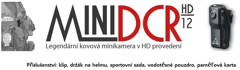 UHshop.cz - Policejní minikamery DCR-12